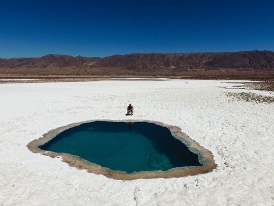 Story of Prophet ismail, frozen lake