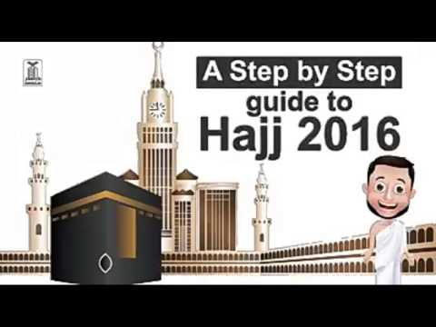 Learn How to Perform Hajj|Step by Step|Rites of Hajj|