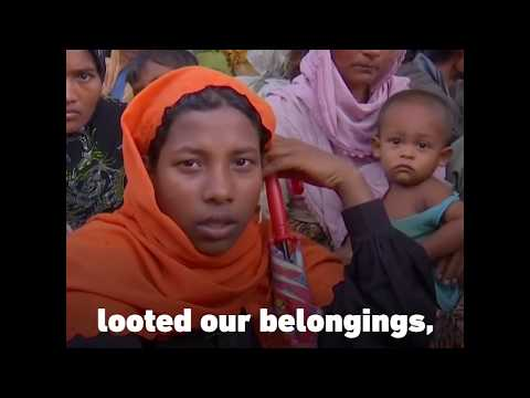 Rohingya Muslims are suffering under the Myanmar government
