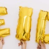"The word ""Eid"" with Helium Balloons, What Eid Actually Means!"
