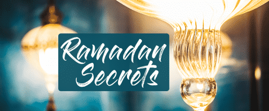 Rmadan secrets with a shining lantern