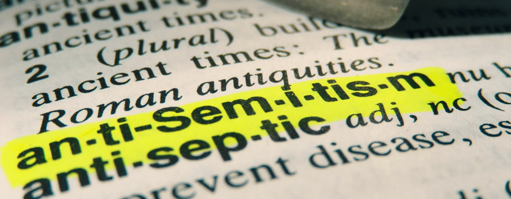 Are Muslims anti-Semitic? Book's text highlighted.