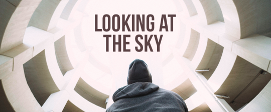 Looking at the sky